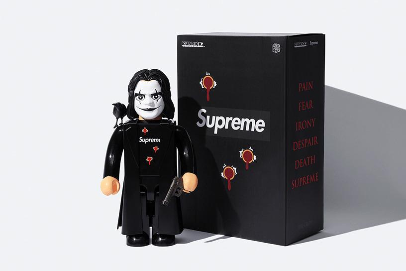 Supreme/The Crow KUBRICK 1000%