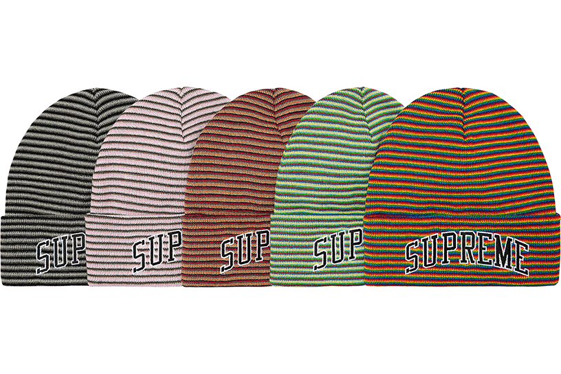 Rainbow Stripe Beanie