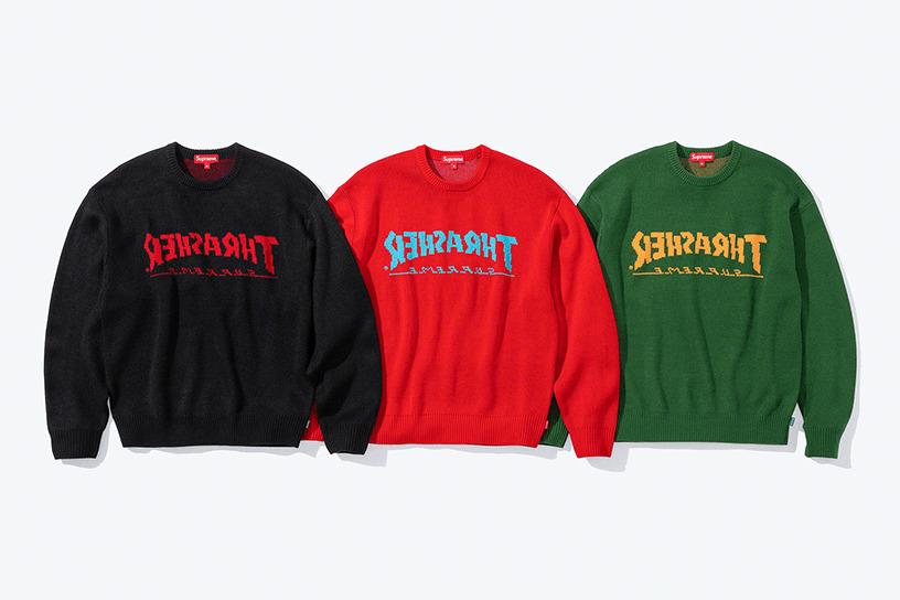 Supreme®/Thrasher® Sweater