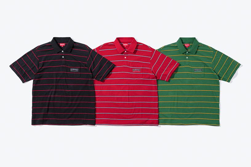 Supreme®/Thrasher® Stripe Polo
