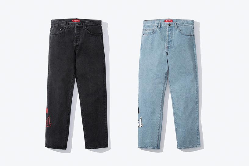 Supreme®/Thrasher® Regular Jean