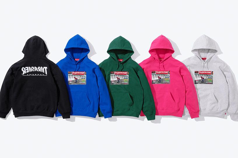 Supreme®/Thrasher® Hooded Sweatshirt