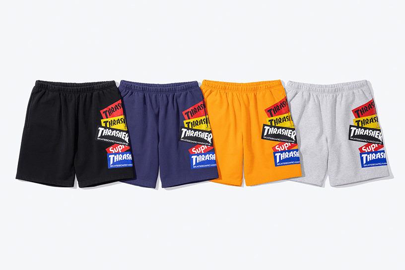 Supreme®/Thrasher® Multi Logo Sweatshort