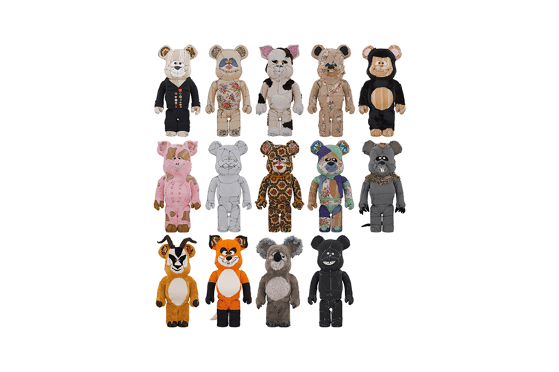 Anne Valérie Dupond ONE OF KIND BE@RBRICK 1000%(14パターン)
