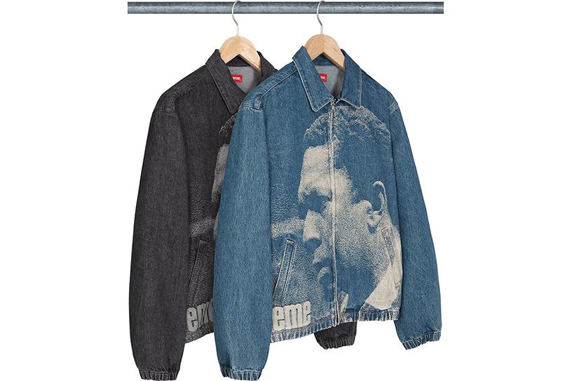John Coltrane A Love Supreme Denim Harrington Jacket