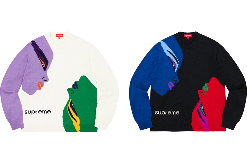 Faces Sweater