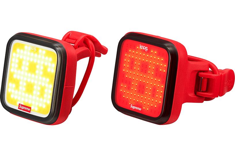 Supreme®/Knog Blinder Bicycle Lights (Set of 2)