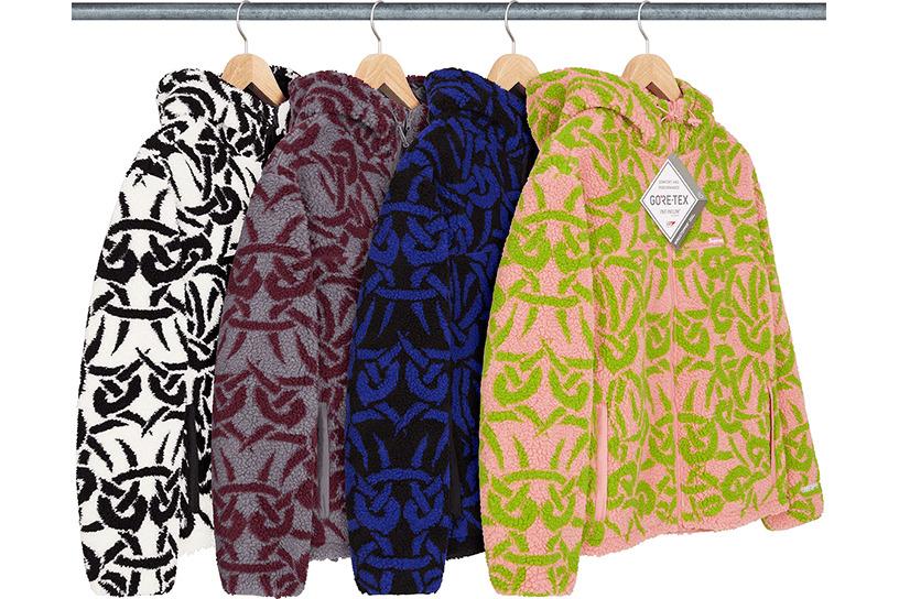 Celtic Knot Reversible WINDSTOPPER® Fleece Hooded Jacket