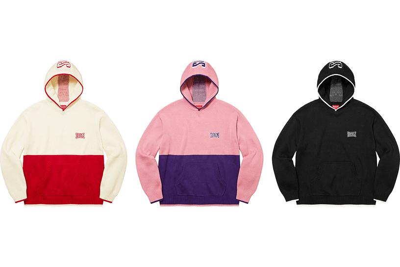 2-Tone Hooded Sweater